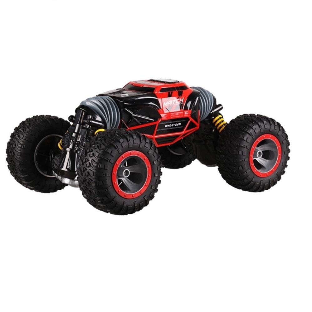 Купить Машинка радиоуправляемая 1 Toy Hyper Перевертыш Leopard King №1 Красная 33 См,