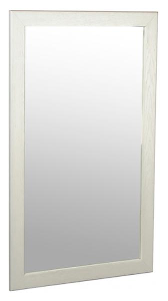 Зеркало навесное Берже 24 90 белый ясень