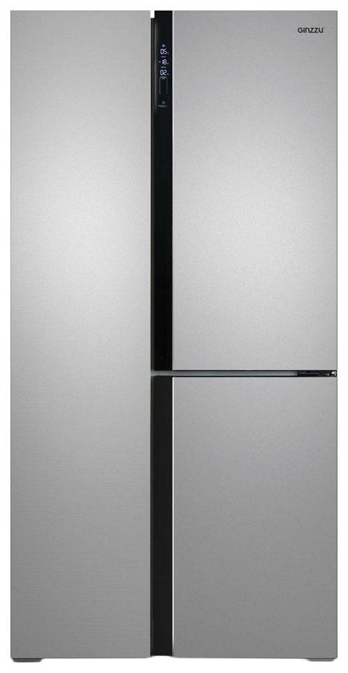 Холодильник Ginzzu NFK 610 Silver