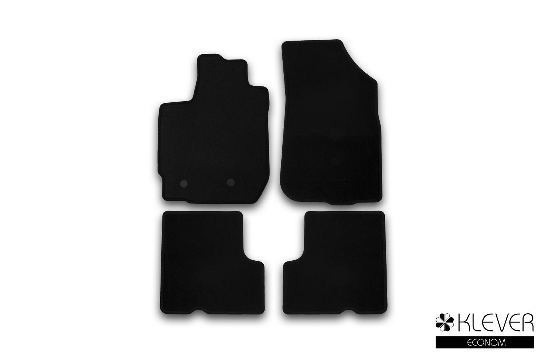 Коврики в салон Klever Econom для RENAULT Duster 2WD/4WD, 2015, 4 шт текстиль
