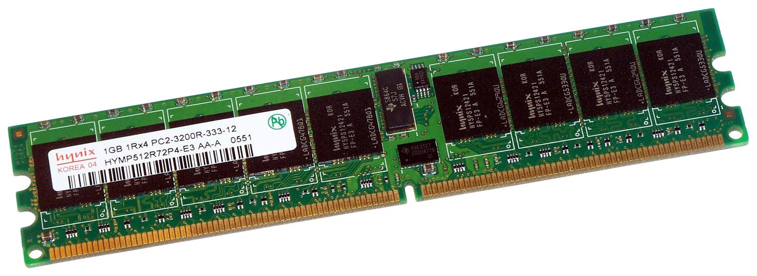 Оперативная память Hynix HYMP512R72P4-E3.