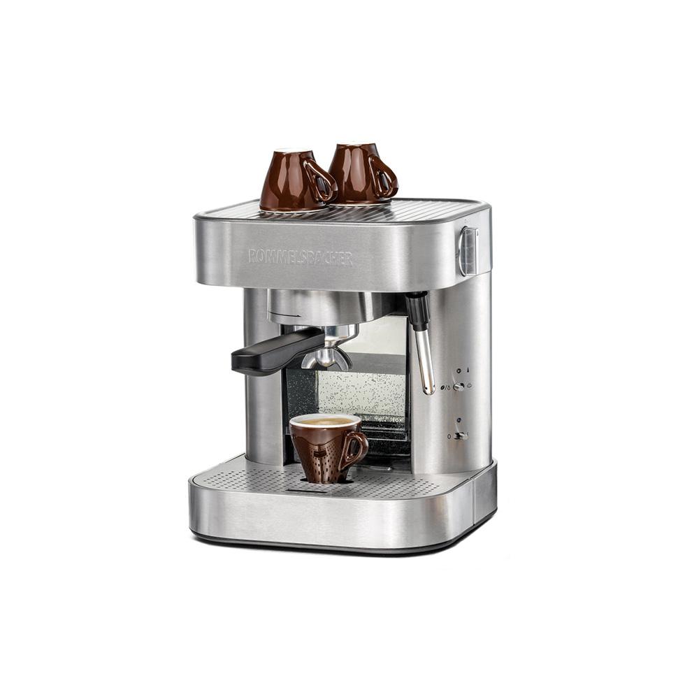 Рожковая кофеварка  Rommelsbacher EKS 1510 Silver