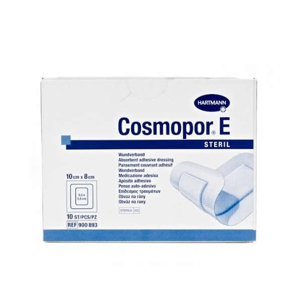 Повязка Cosmopor E послеоперационная стерильная самоклеящаяся
