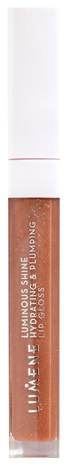 Блеск для губ Lumene Luminous Shine Hydrating#and#Plumping Lip Gloss 2 Warm Nude 5 мл