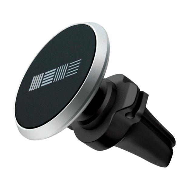 Держатель для телефона InterStep 50126891 магнитный в воздуховод, Black/Gray