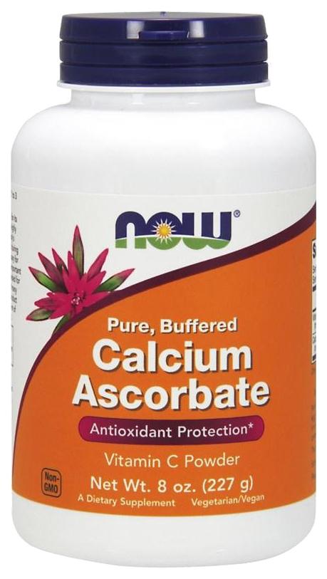Витамин C NOW Calcium Ascorbate 227 г