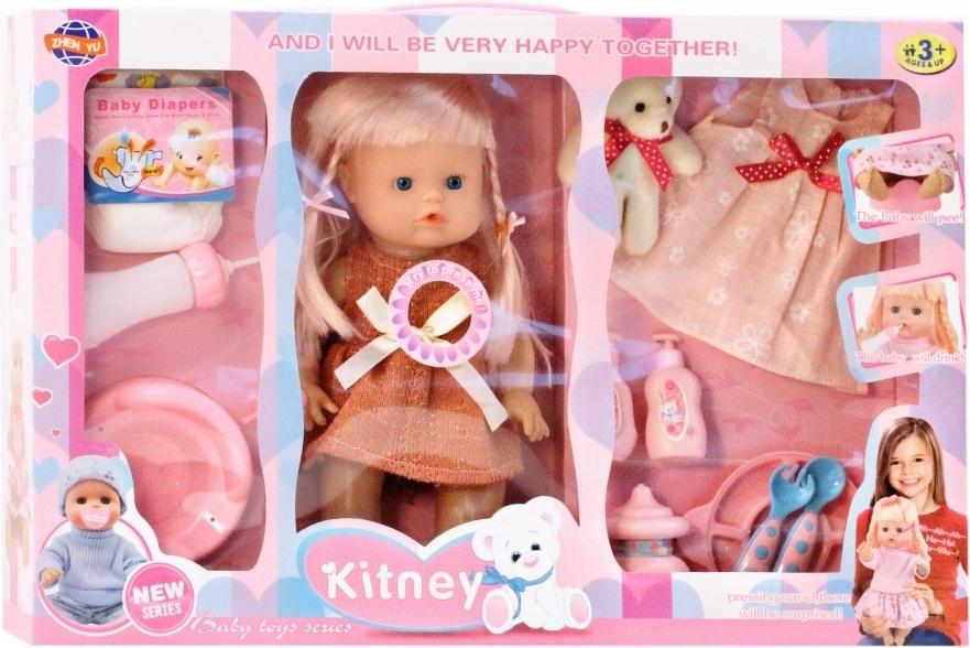 Купить SHANTOU Кукла, тело - пластик, с аксессуар., в/к 50, 5*10*33 см JB700327, Shantou Gepai, Классические куклы