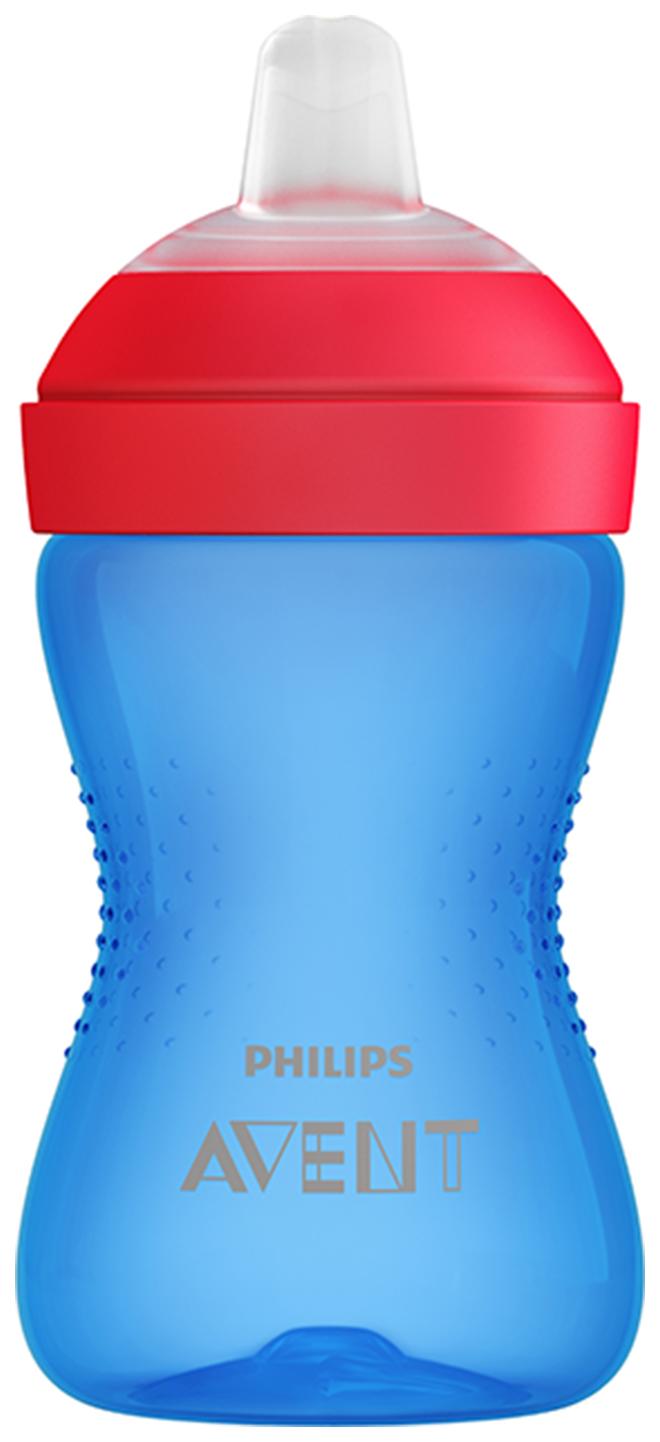 Чашка-непроливайка с мягким носиком Philips Avent 300 мл Голубой SCF802/01