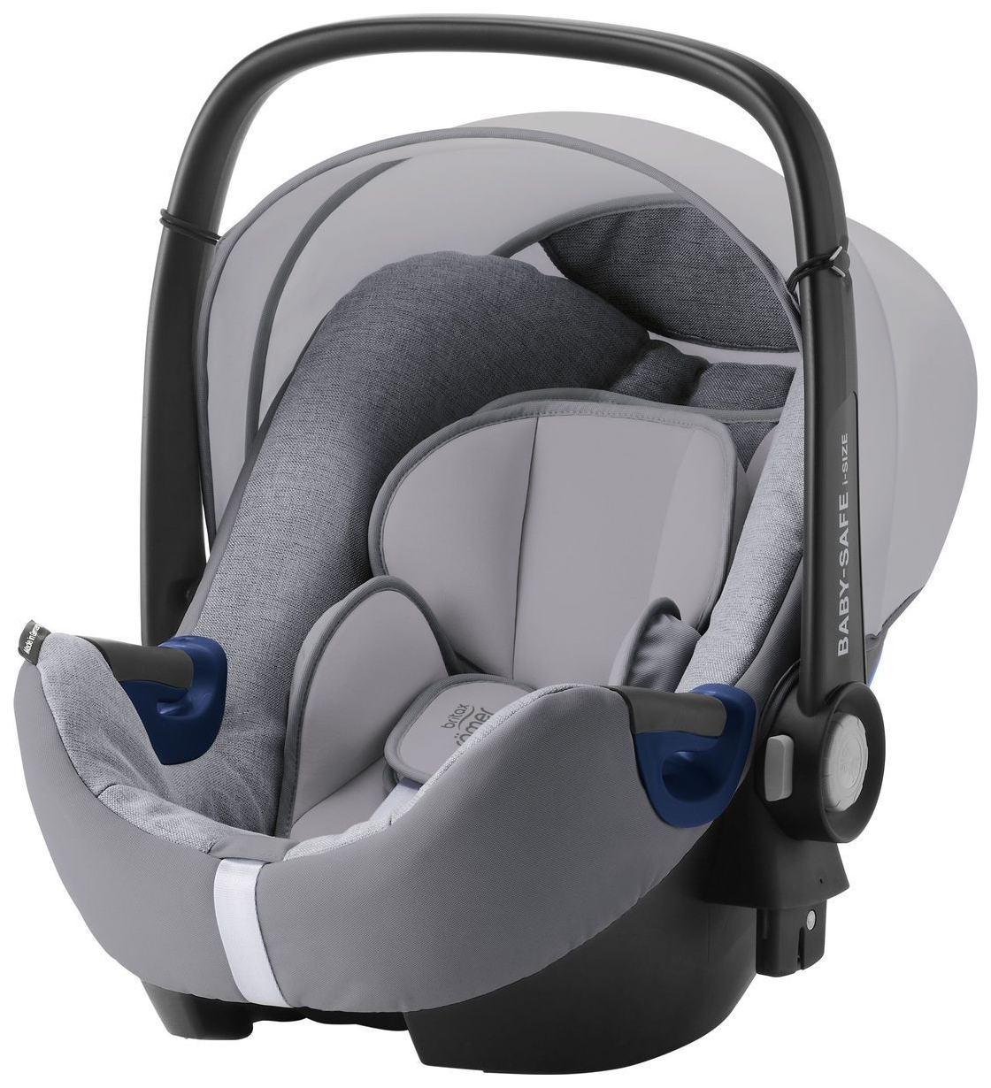 BRITAX ROMER BABY-SAFE2 I-SIZE GREY MARBLE HIGHLINE