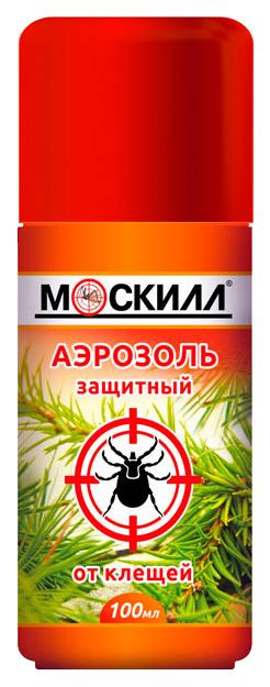 Аэрозоль Москилл от клещей и комаров 100 мл