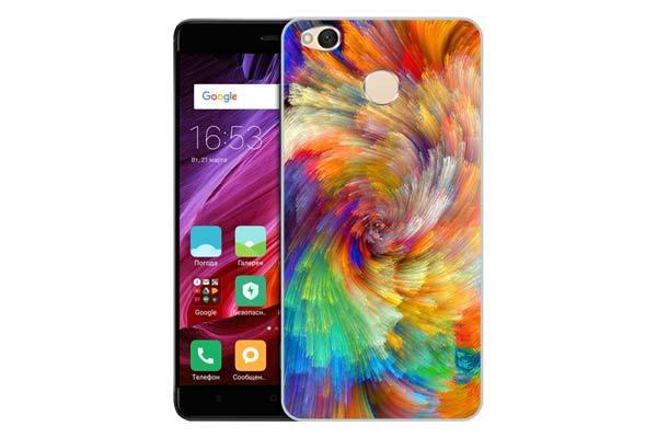 Чехол Gosso Cases для Xiaomi Redmi 4X «Акварельная красота»