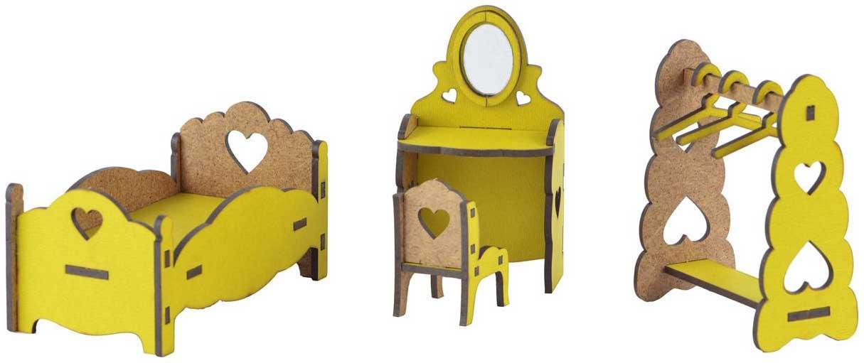 Мебель для кукол Большой слон Спальня