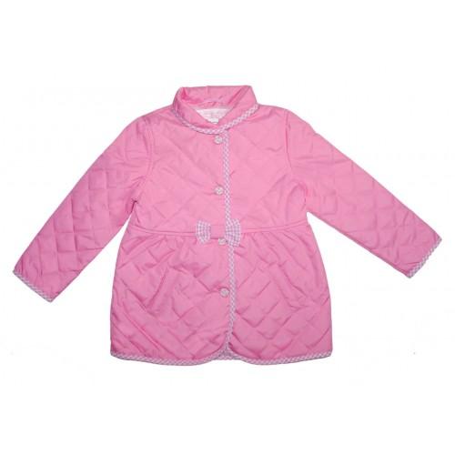 Пальто стеганное Bon&Bon 351.1 розовое Р.92 фото