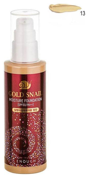 Купить BB средство Enough Gold Snail Moisture Foundation SPF30/PA++ №13 100 мл