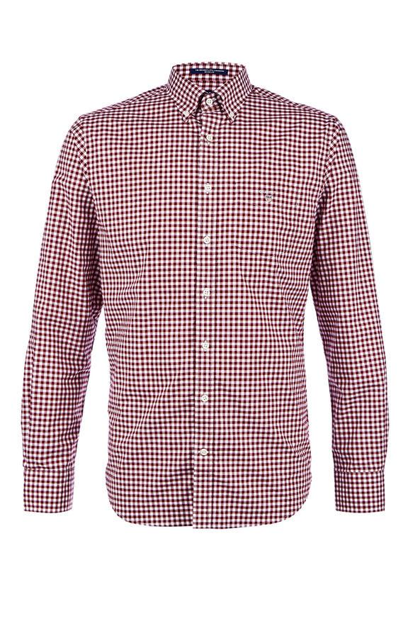 Рубашка Мужская GANT красная 56