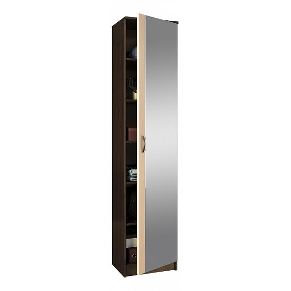 Платяной шкаф MFMaster MAS_MST-PDO-SH1-R-Z1-VD 35х45х200, венге/дуб молочный