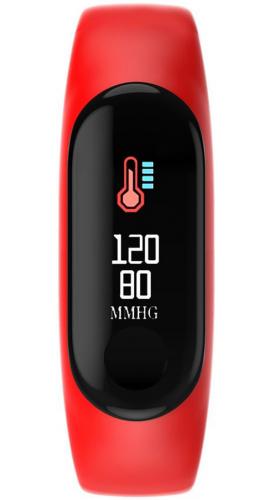 Смарт браслет CARCAM Smart Band M3 Red/Red.