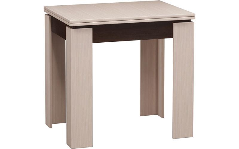 Кухонный стол Divan.ru 78х80х60 см, бежевый/коричневый