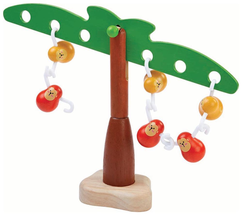 Игра Балансирующие обезьянки Plan Toys 5349