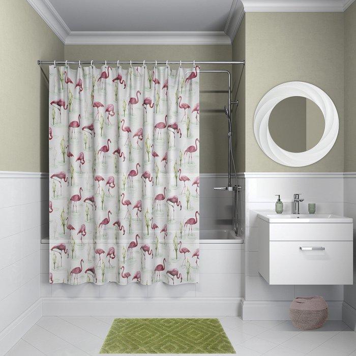 Штора для ванной комнаты IDDIS Promo P04PV11i11