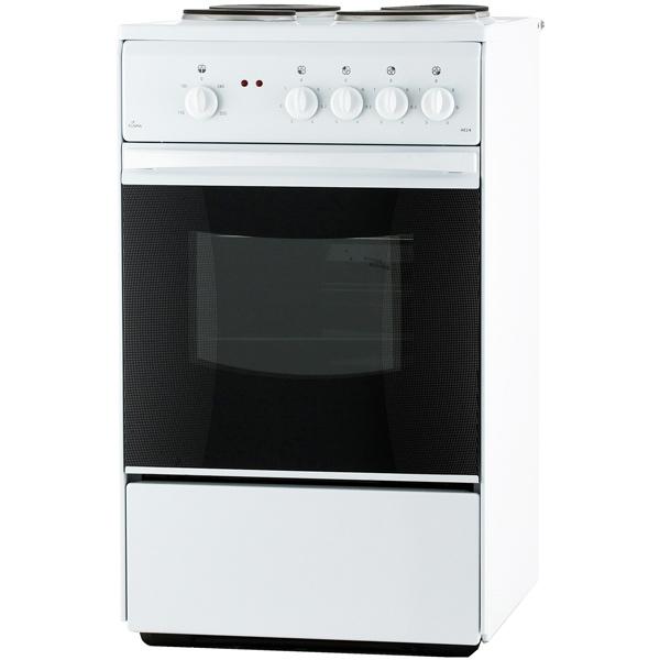 Электрическая плита Flama АЕ14010 W White