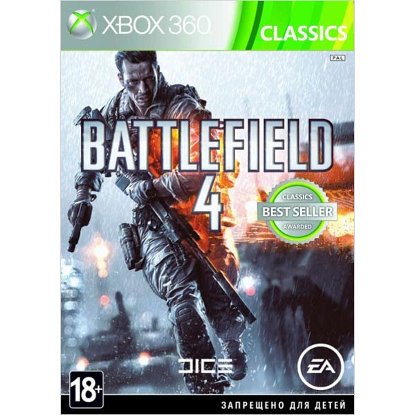 Игра Battlefield 4 Classics для Xbox 360