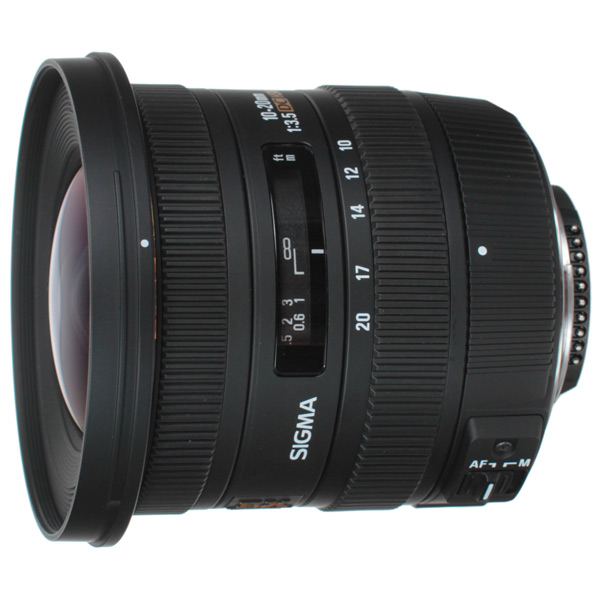 Объектив SIGMA 10-20mm f/3.5 EX DC HSM Nikon F