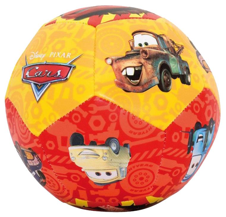 Мячик детский JOHN Тачки 100 мм мягкий
