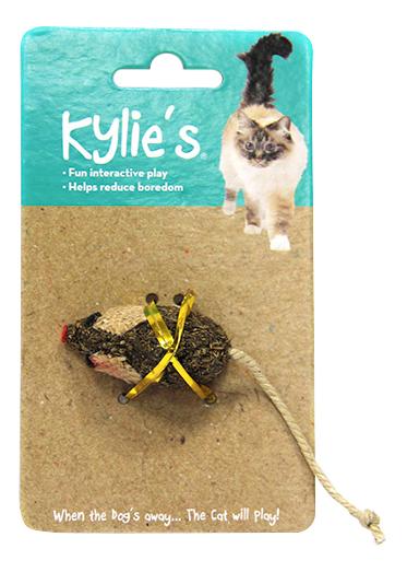 Интерактивная игрушка для кошек Chomper, Сизаль, с кошачьей мятой natural по цене 193