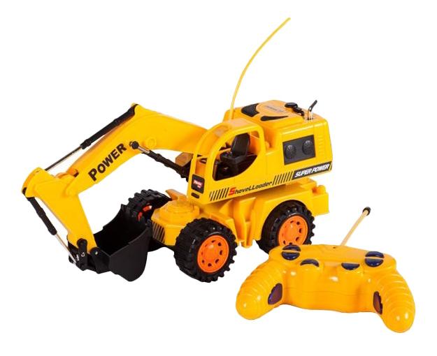 Экскаватор р.у. Mioshi Tech колесный строительный желтый (MTE1208-005) фото
