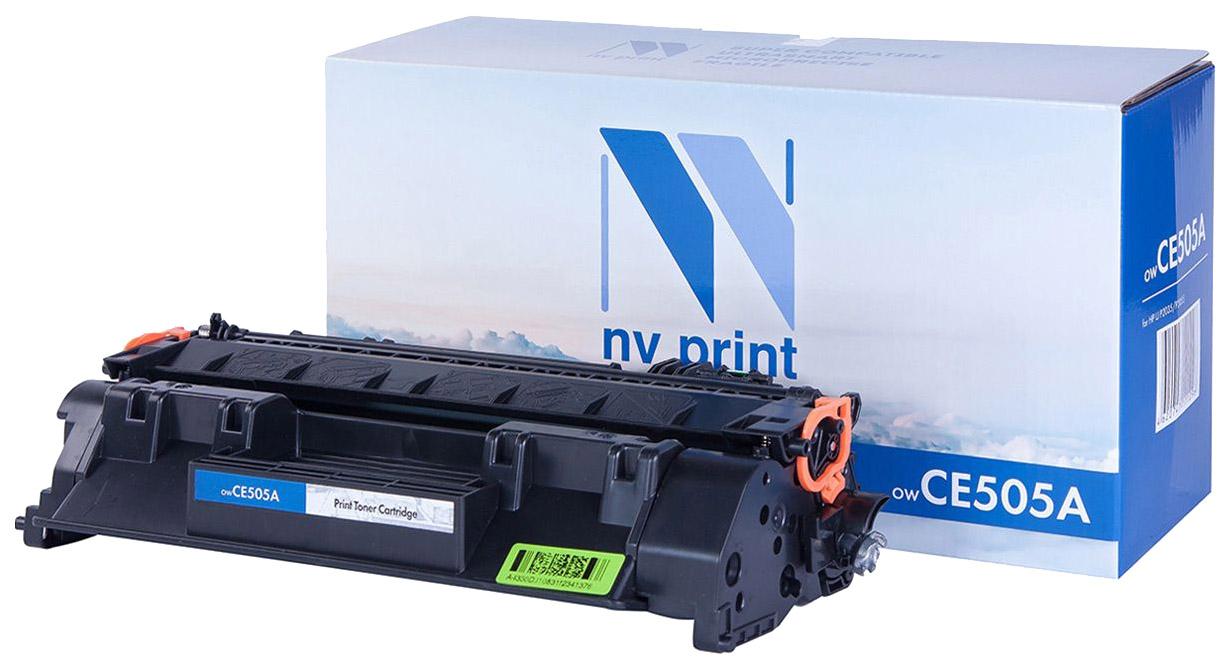 Картридж для лазерного принтера NV Print CE505A, черный NV-CE505A