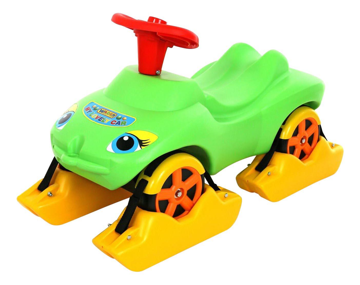 Каталка Wader Мой любимый автомобиль зеленый (44648_PLS) фото