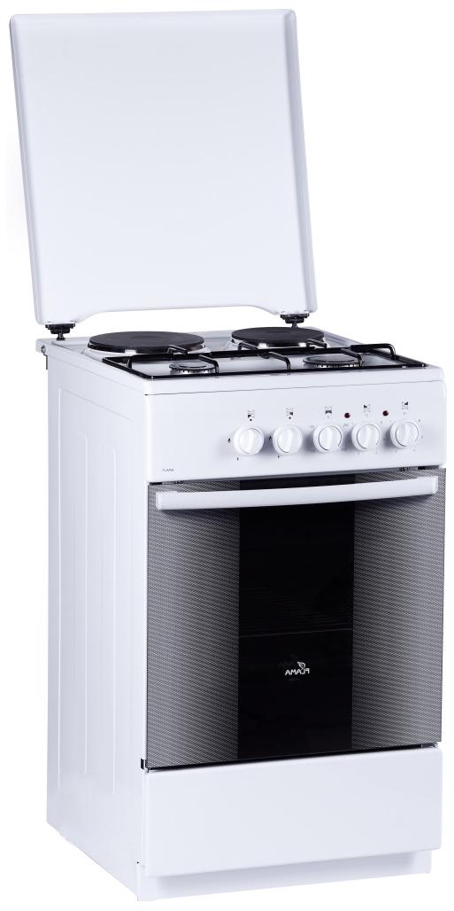 Комбинированная плита Flama RK 2211 W White