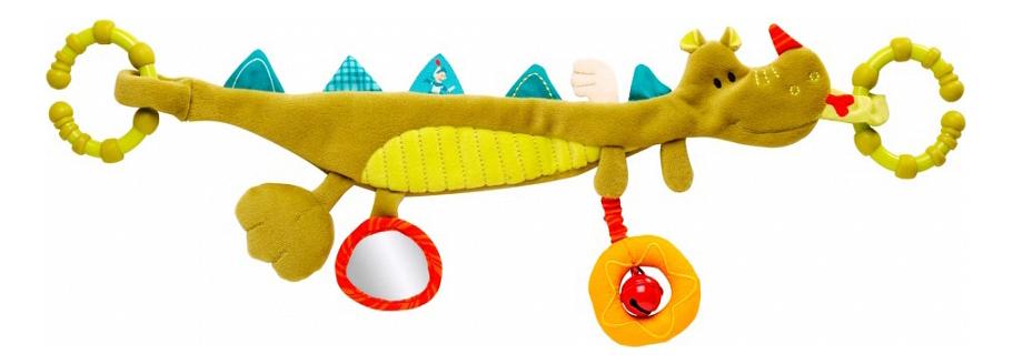 Дракон Уолтер, Подвес с погремушками Lilliputiens Дракон Уолтер , Подвесные игрушки  - купить со скидкой