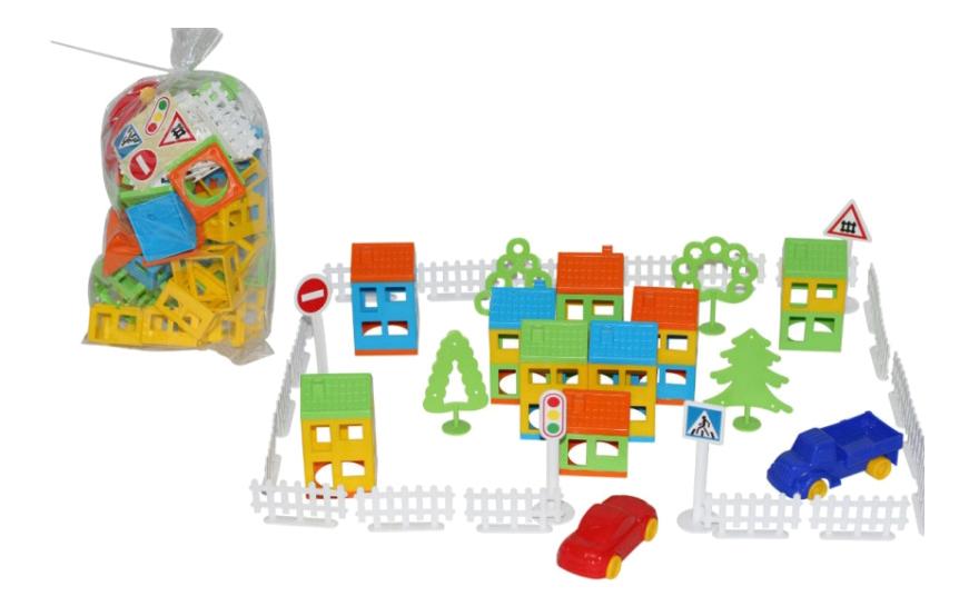 Конструктор пластиковый Полесье Построй свой город