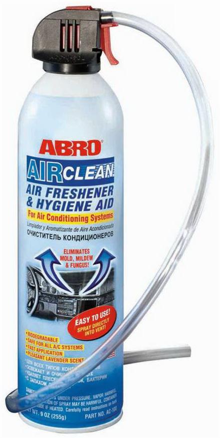 Очиститель кондиционера ABRO AC 100 255 г