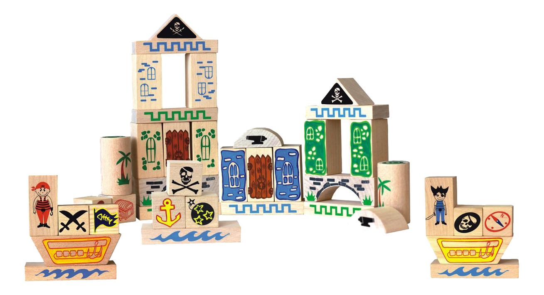 Конструктор для малышей Краснокамская игрушка Пираты