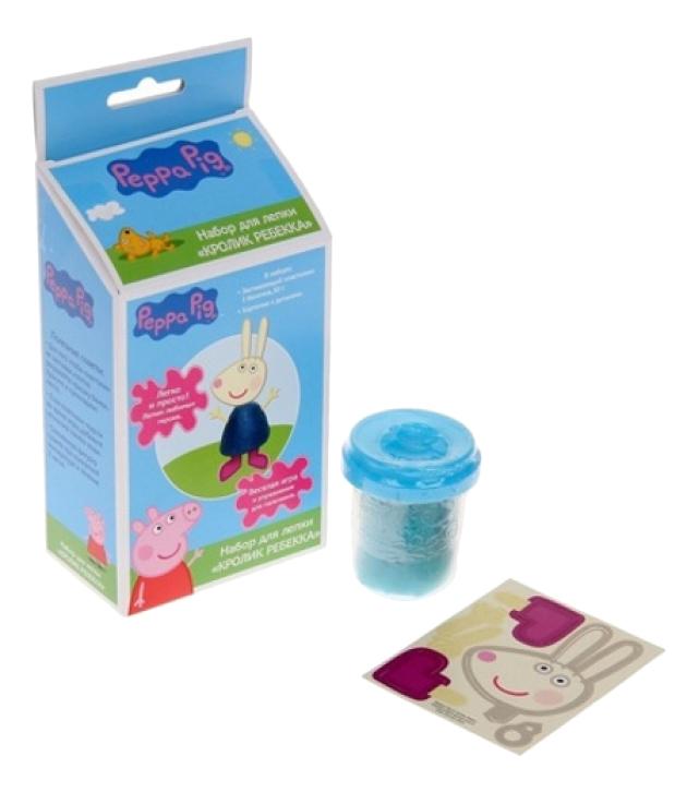 Купить Набор для лепки из пластилина Peppa Pig Кролик Ребекка, Лепка