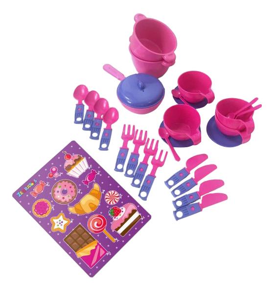 Набор посуды игрушечный Zebratoys Чайный фото