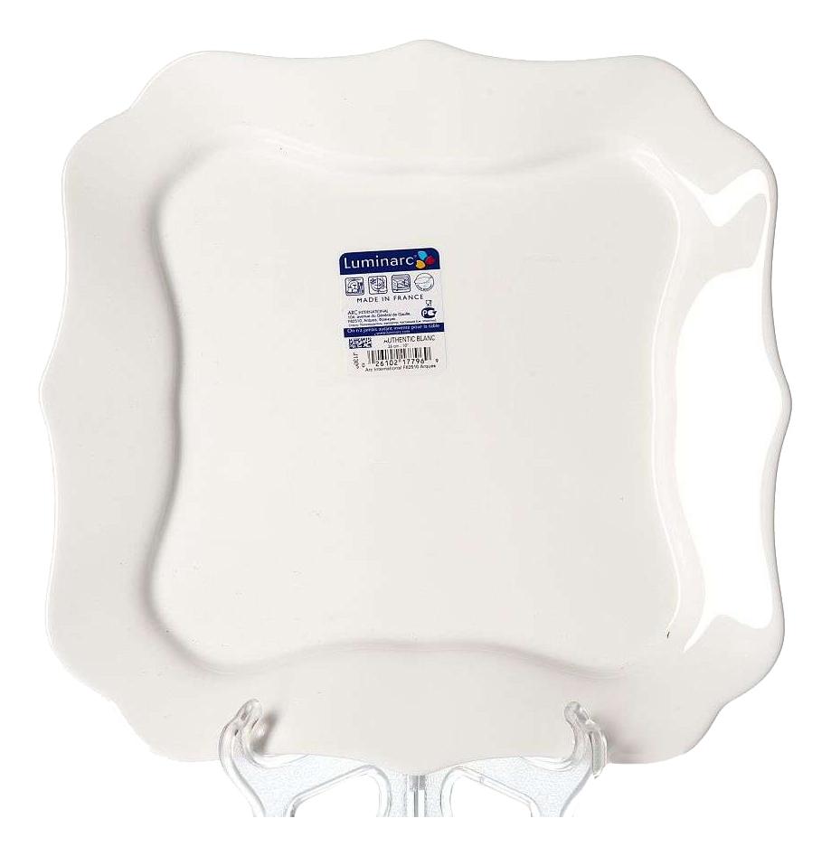 Тарелка Luminarc Authentic White 26 см