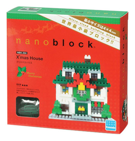 Конструктор пластиковый Nanoblock Праздничный домик