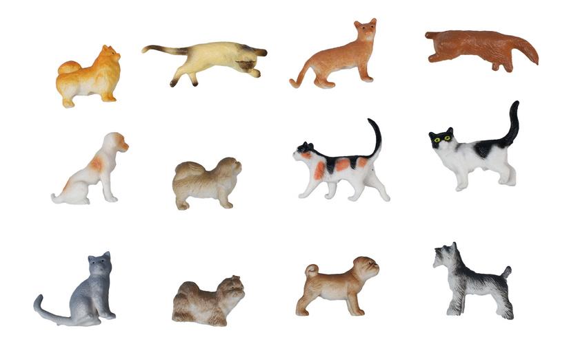Игровой набор животных 1TOY В мире животных 12 шт. фото