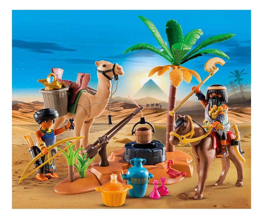 Игровой набор Playmobil PLAYMOBIL Лагерь расхитителей гробниц фото