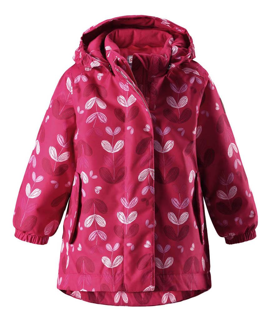 Куртка детская Reima Reimatec Winter Jacket Ohra розовая р.80 фото