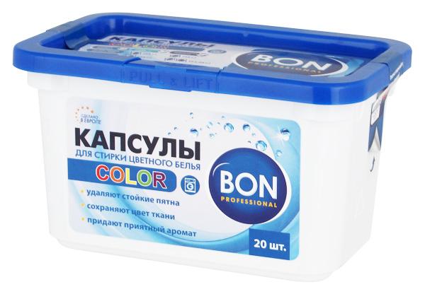 Таблетки для стирки Bon для цветного белья