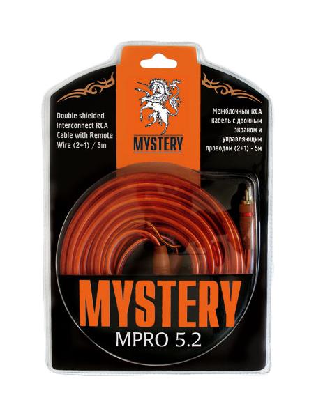 Кабель автомобильный Mystery межблочный кабель MPRO 5.2 фото