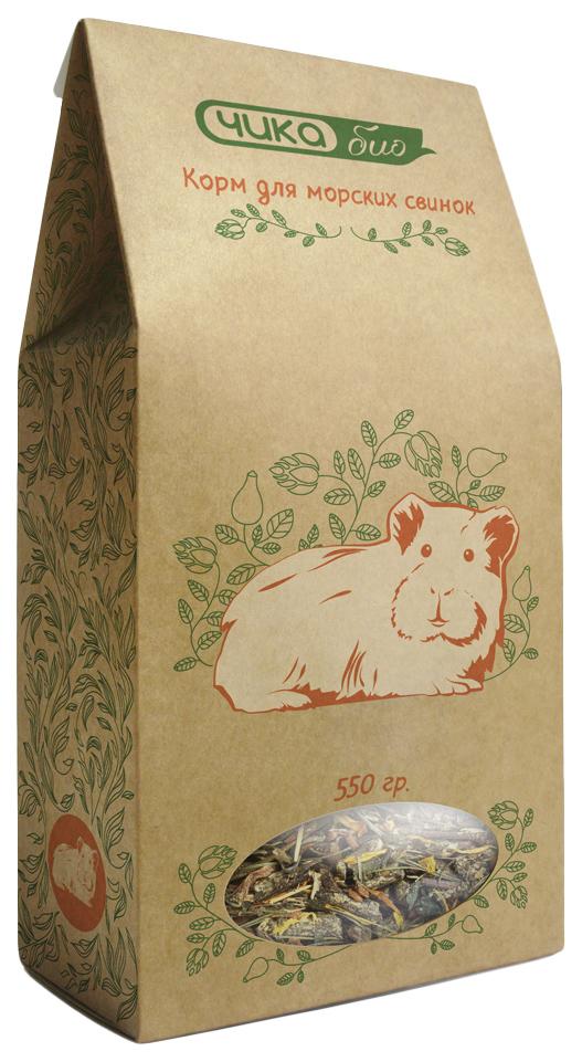 Корм для морских свинок Чика Био 0.55 кг 1 шт.