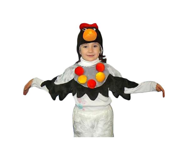 Купить 1447, Карнавальный костюм Бока Ворона, цв. разноцветный р.122,