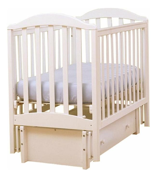 Купить Кровать Лель Лютик 15.3 слоновая кость, Классические кроватки