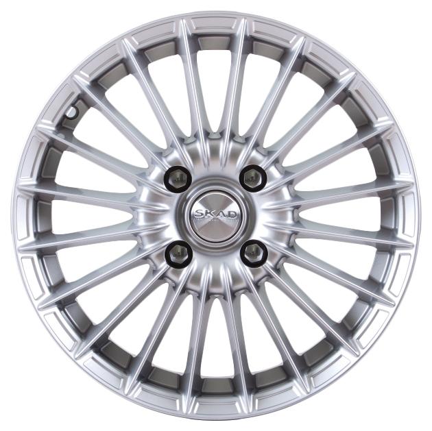 Колесные диски SKAD R15 6J PCD4x100 ET38 D67.1 621508 фото